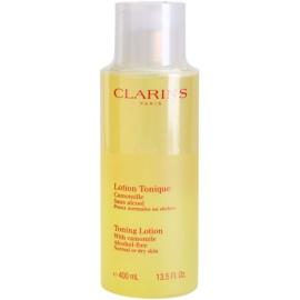 Clarins Cleansers тонизираща вода-грижа с лайка за нормална и суха кожа  400 мл.