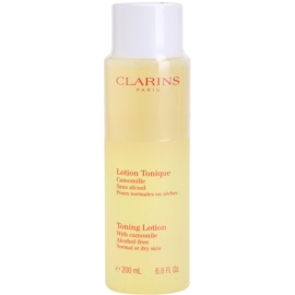 Clarins Cleansers Tonique Lotion with Camomile for Normal or Dry Skin 200 ml