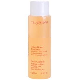 Clarins Cleansers tónico refrescante para pieles secas y sensibles  200 ml