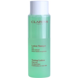 Clarins Cleansers Toning Lotion with Iris for Combination or Oily Skin 200 ml