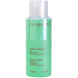 Clarins Cleansers Toning Lotion with Iris for Combination or Oily Skin 400 ml
