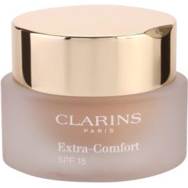 Clarins Face Make-Up Extra-Comfort aufhellendes und verjüngendes Make up für ein natürliches Aussehen LSF 15 Farbton 107 Beige  30 ml