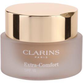 Clarins Face Make-Up Extra-Comfort világosító és fiatalító make-up a  természetes hatásért SPF 15 árnyalat 108 Sand  30 ml