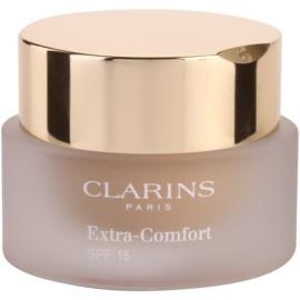 Clarins Face Make-Up Extra-Comfort aufhellendes und verjüngendes Make up für ein natürliches Aussehen LSF 15 Farbton 108 Sand  30 ml