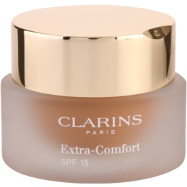 Clarins Face Make-Up Extra-Comfort rozjasňující a omlazující make-up pro přirozený vzhled SPF 15 odstín 113 Chestnut  30 ml