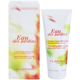 Clarins Eau Des Jardins tělový krém pro ženy 200 ml