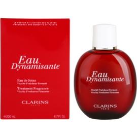 Clarins Eau Dynamisante frissítő víz unisex 200 ml izzadásgátló töltő