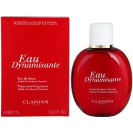 Clarins Eau Dynamisante frissítő víz unisex 500 ml izzadásgátló töltő