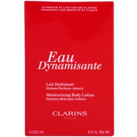 Clarins Eau Dynamisante leche corporal para mujer 250 ml