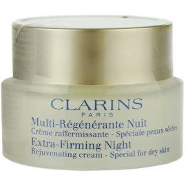 Clarins Extra-Firming нощен крем против бръчки  за суха кожа   50 мл.