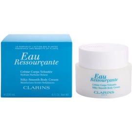 Clarins Eau Ressourcante tělový krém pro ženy 200 ml