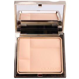 Clarins Face Make-Up Ever Matte ásványi kompakt alapozó matt hatásért árnyalat 00 Transparent Opale  10 g