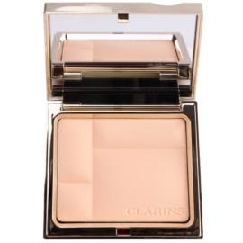 Clarins Face Make-Up Ever Matte polvos compactos minerales  de acabado mate tono 00 Transparent Opale  10 g