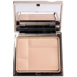 Clarins Face Make-Up Ever Matte ásványi kompakt alapozó matt hatásért árnyalat 01 Transparent Light  10 g