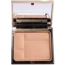 Clarins Face Make-Up Ever Matte ásványi kompakt alapozó matt hatásért árnyalat 02 Transparent Medium  10 g