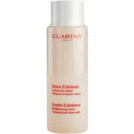Clarins Exfoliating Care tónico exfoliante suave para iluminar la piel  125 ml