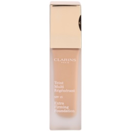 Clarins Face Make-Up Extra-Firming krémový make-up proti stárnutí pleti SPF 15 odstín 107 Beige  30 ml