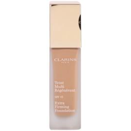 Clarins Face Make-Up Extra-Firming кремовий тональний крем проти старіння шкіри SPF 15 відтінок 112 Amber  30 мл