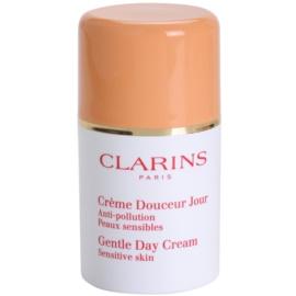 Clarins Gentle Care creme hidratante diário para pele sensível  50 ml