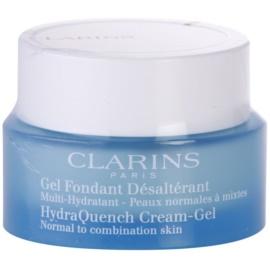 Clarins HydraQuench gel crema hidratant pentru piele normala si mixta  50 ml