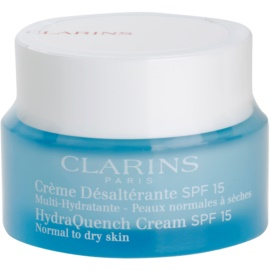 Clarins HydraQuench hidratáló nappali krém SPF 15  50 ml