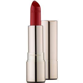 Clarins Lip Make-Up Joli Rouge hosszan tartó rúzs hidratáló hatással árnyalat 743  Cheerry Red 3,5 g