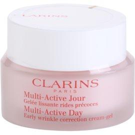 Clarins Multi-Active krem-żel na dzień wygładzający niewielkie zmarszczki do cery normalnej i mieszanej  50 ml