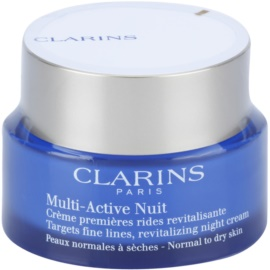 Clarins Multi-Active Revitalising Night Moisturiser for Fine Lines For Normal And Dry Skin  50 ml