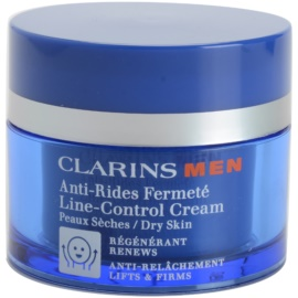 Clarins Men Age Control zpevňující protivráskový krém pro suchou pleť  50 ml