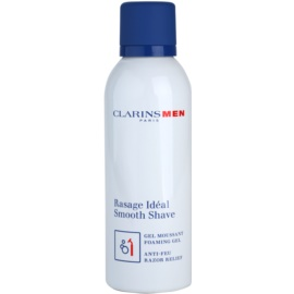Clarins Men Shave gyengéd habos gél borotválkozáshoz  150 ml