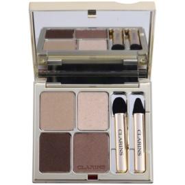 Clarins Eye Make-Up Ombre Minérale стійкі тіні для повік з дзеркальцем та аплікатором відтінок 13 Skin Tones  5,8 гр