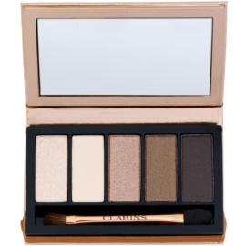 Clarins Eye Make-Up Palette 5 Couleurs Paleta ochi umbre cu 5 nuante culoare 03 natural glow 7,5 g