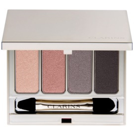 Clarins Eye Make-Up 4 Colour Eyeshadow Palette szemhéjfesték paletták árnyalat 01 Nude 6,9 g
