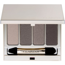Clarins Eye Make-Up 4 Colour Eyeshadow Palette Palette mit Lidschatten Farbton 03 Brown 6,9 g