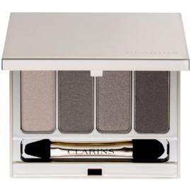 Clarins Eye Make-Up 4 Colour Eyeshadow Palette szemhéjfesték paletták árnyalat 03 Brown 6,9 g