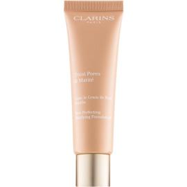 Clarins Pore Perfecting pórusösszehúzó mattosító make-up árnyalat 02 Nude Beige 30 ml
