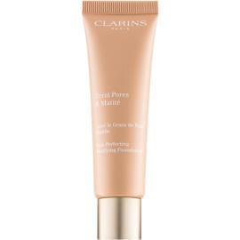 Clarins Pore Perfecting pórusösszehúzó mattosító make-up árnyalat 05 Nude Cappuccino 30 ml