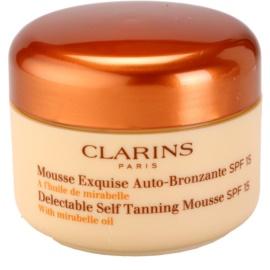 Clarins Sun Self-Tanners espuma bronzeadora para rosto e corpo SPF 15  125 ml