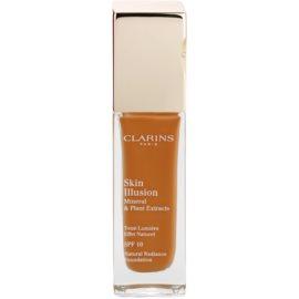 Clarins Face Make-Up Skin Illusion machiaj de stralucire pentru un look natural SPF 10 culoare 117 Hazelnut  30 ml