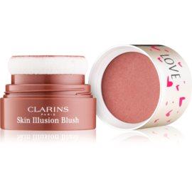 Clarins Face Make-Up Skin Illusion kompaktní tvářenka odstín 03 Golden Havana 4,5 g