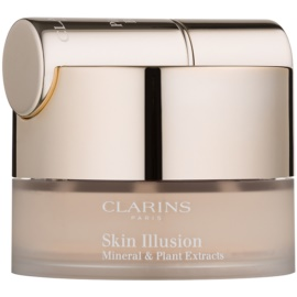 Clarins Face Make-Up Skin Illusion Puder-Make-up mit Pinselchen Farbton 105 Nude 13 g