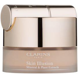 Clarins Face Make-Up Skin Illusion púderes make-up ecsettel árnyalat 107 Beige 13 g