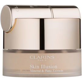 Clarins Face Make-Up Skin Illusion Puder-Make-up mit Pinselchen Farbton 108 Sand 13 g