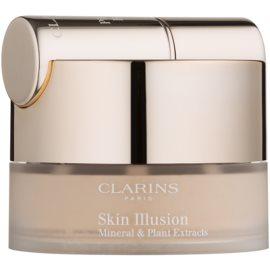 Clarins Face Make-Up Skin Illusion púderes make-up ecsettel árnyalat 108 Sand 13 g