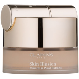Clarins Face Make-Up Skin Illusion Puder-Make-up mit Pinselchen Farbton 112 Amber 13 g
