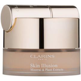 Clarins Face Make-Up Skin Illusion púderes make-up ecsettel árnyalat 112 Amber 13 g
