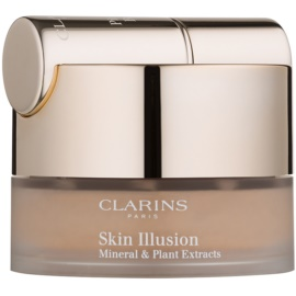 Clarins Face Make-Up Skin Illusion Puder-Make-up mit Pinselchen Farbton 114 Cappucino 13 g