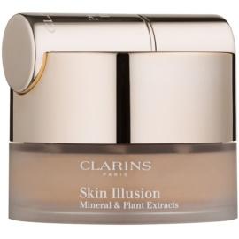 Clarins Face Make-Up Skin Illusion púderes make-up ecsettel árnyalat 114 Cappucino 13 g