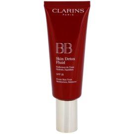 Clarins Face Make-Up BB Skin Detox Fluid Moisturising BB Cream SPF 25 Color 00 Fair 45 ml
