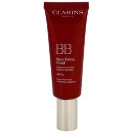 Clarins Face Make-Up BB Skin Detox Fluid Moisturising BB Cream SPF 25 Shade 02 Medium 45 ml
